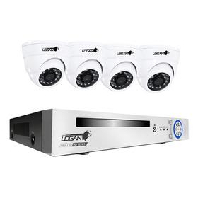 Kit 4 Camaras Domo 720p Dvr 4 Canales Sistema Seguridad Ahd