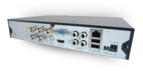 kit 4 camaras seguridad+dvr 1080p full hd+disco 1 tera ml089