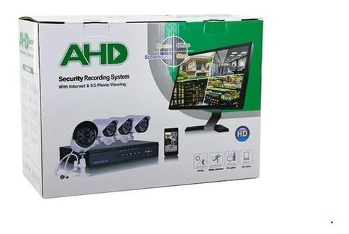 kit 4 cámaras vigilancia seguridad hd+disco 1tb/envío gratis