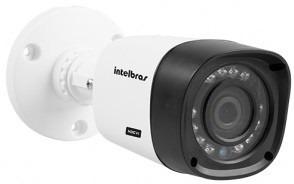 kit 4 cameras hdcvi alta definição dvr intelbras 8 canais g3