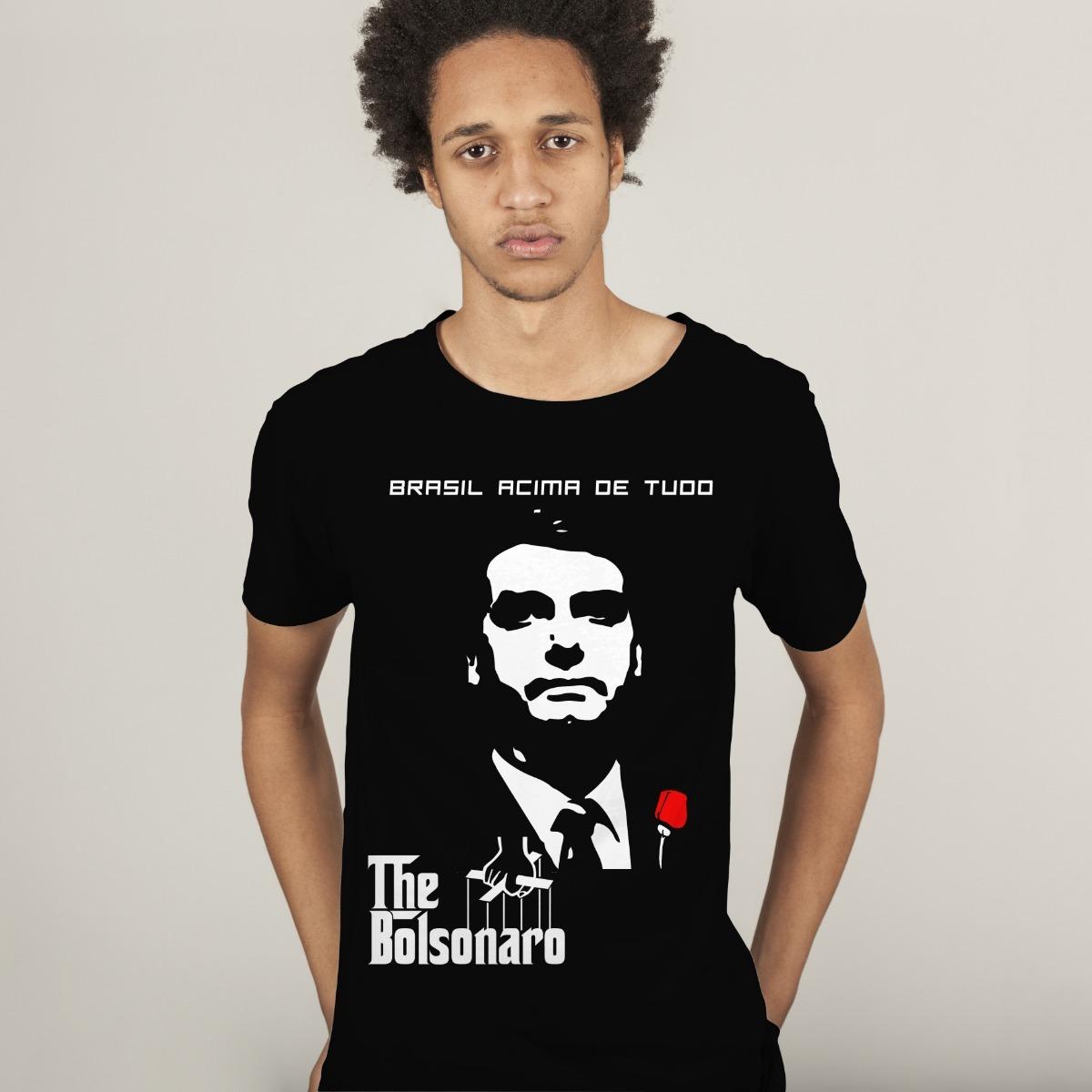 0fa1755648 Camisa camiseta Jair Bolsonaro Presidente colorida Aniversrio e
