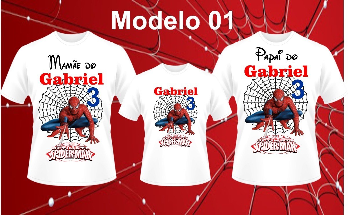 58ea2af4add9c5 Kit 4 Camisas Personalizada Festa Pai Mãe Filho Irmã Etc