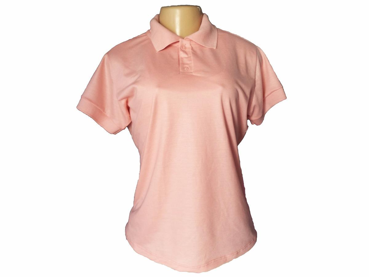 7cd0bf5bdf Kit 4 Camisas Polo Feminina