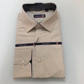 d3a1f1c20fb3a Camisa Nude Plissados Grandes Botoes Homem - Camisas com o Melhores ...