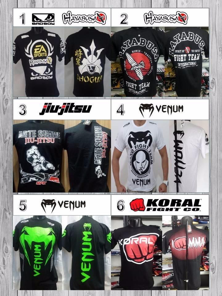 4479ed352 Kit 4 Camiseta Camisa Pretoriam Venum Muay Thai Affliction - R  110 ...
