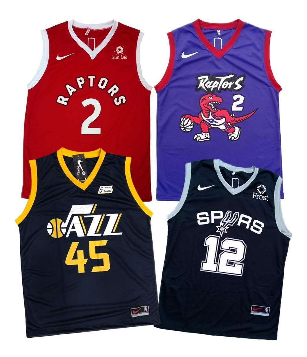 new product 58c51 f0689 Kit 4 Camiseta Regata Basquete Musculação Bulls Lakers Cavs