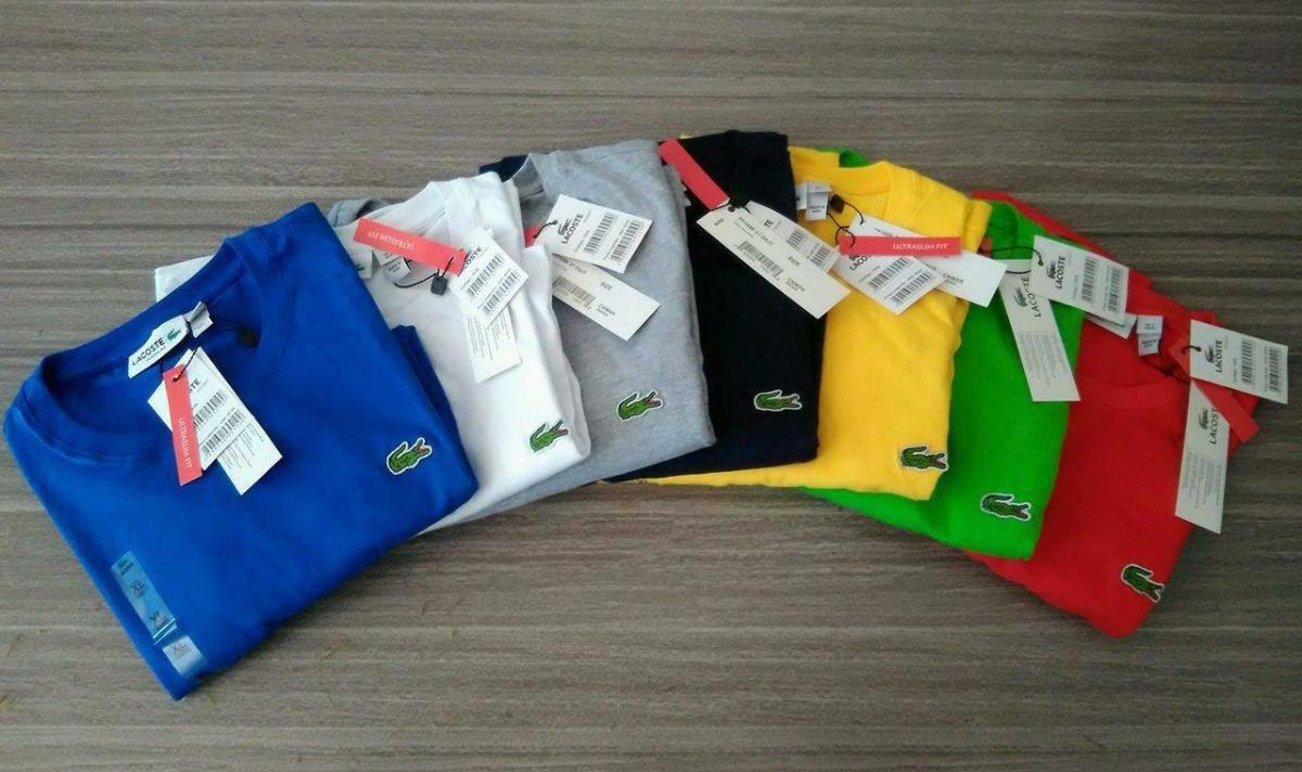 Kit 4 Camiseta Tshirt Basica Lacoste Live Peruana Promoção - R  219 ... 6ae5a7e0fd