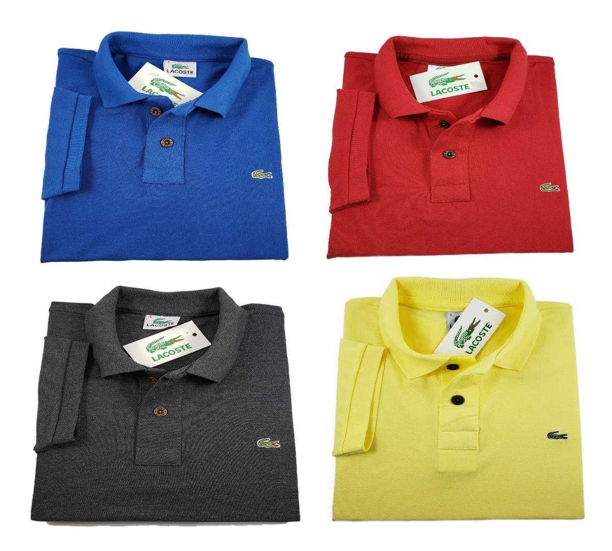 27e9d91ccc678 Kit 4 Camisetas Polo Basica Tamanho Especial Da G1 G2 G3 G4 - R  179 ...