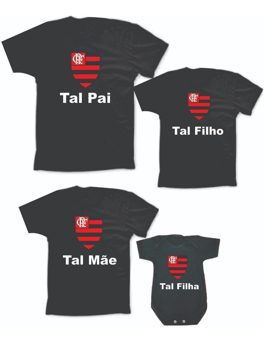 d78e2eb8e kit 4 camisetas tal pai tal filho dia dos pais time-futebol. Carregando  zoom.