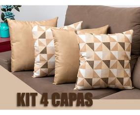 361432677263a1 Kit 4 Capas De Almofadas Decorativas 40x40 - Chique