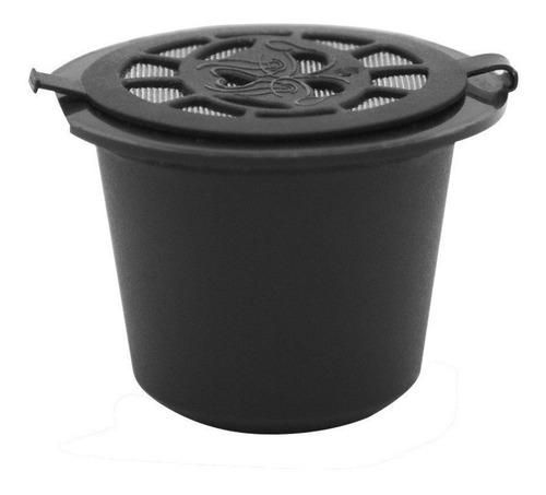 kit 4 cápsula reutizável c/ anel nespresso+ colher + escova