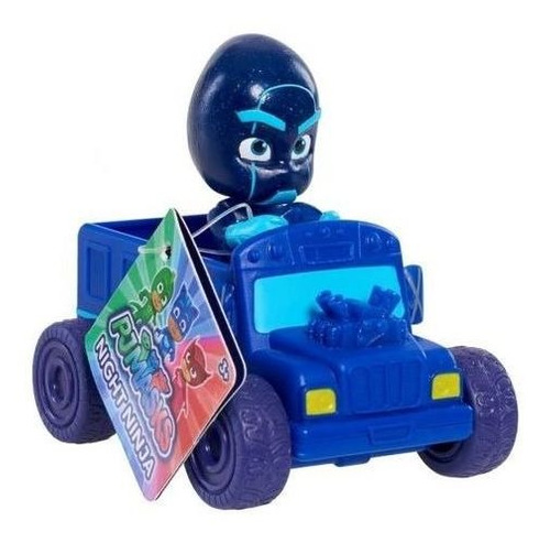 kit 4 carros pj masks mini veículo heróis e vilões dtc 4159