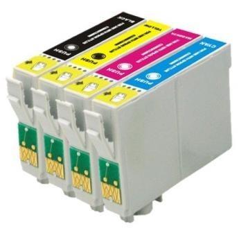 kit 4 cartuchos novos impressora tx235w tx320f tx420w tx430w