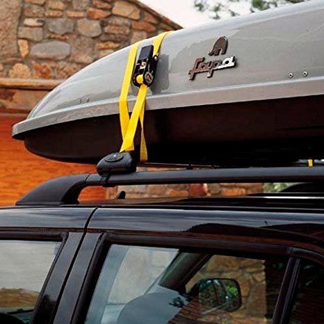 kit 4 cinta amarre crique malacate 2.5x5mtros resiste 800kg
