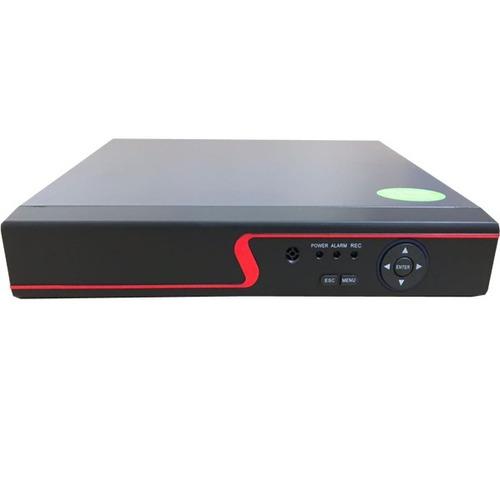 kit 4 câmeras de segurança com dvr 8 canais multi hd p2p