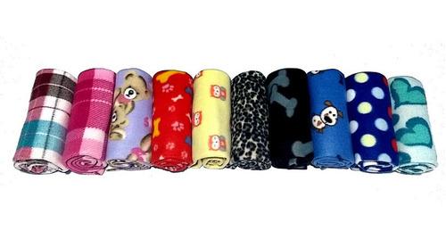 kit 4 cobertor manta pet para cães e gatos