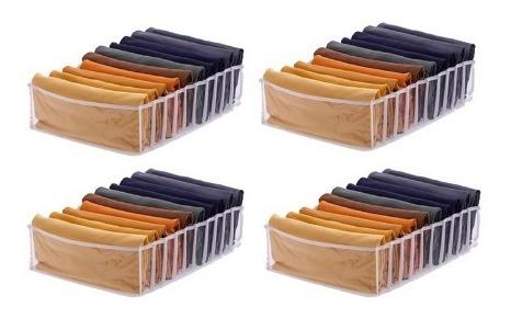 kit 4 colmeias organizadora de gaveta  40x30x10cm 10 div.