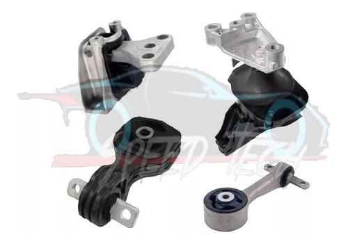 kit 4 coxim motor câmbio new civic 2006 a 2012 automático