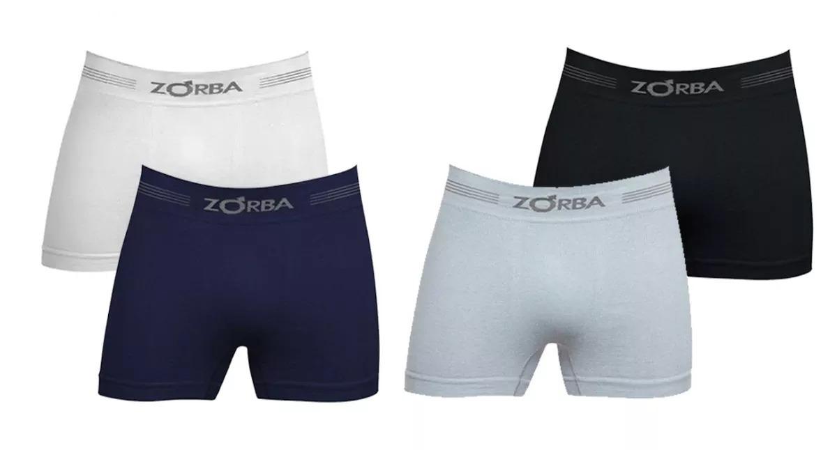 74607e61e kit 4 cuecas boxer zorba sem costura em algodão ref 844. Carregando zoom.