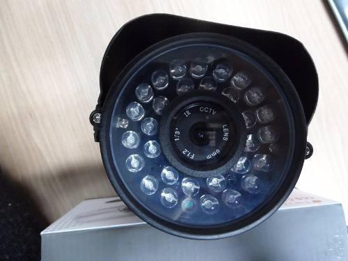 kit 4 domars câmera vídeo incrivel noite/dia infra-vermelho