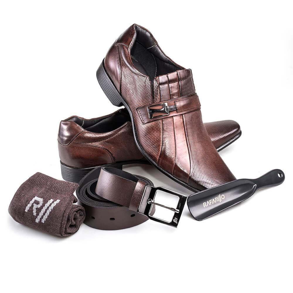 4b2fe872d6 ... sapato social masculino em couro rafarillo office. Carregando zoom.