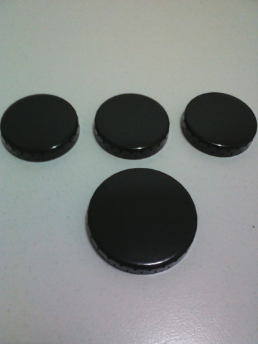 kit 4 espalhador (tampinha da boca) para dako miler