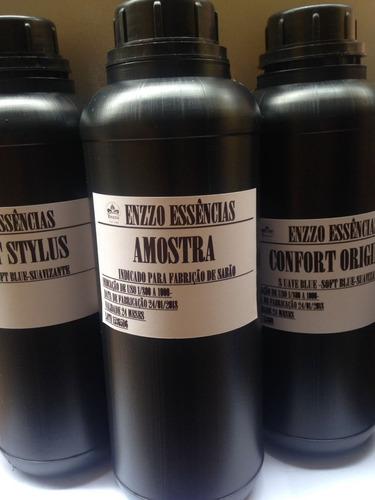 kit 4 essência pura amaciant desinfetante 500ml  óleo nº1