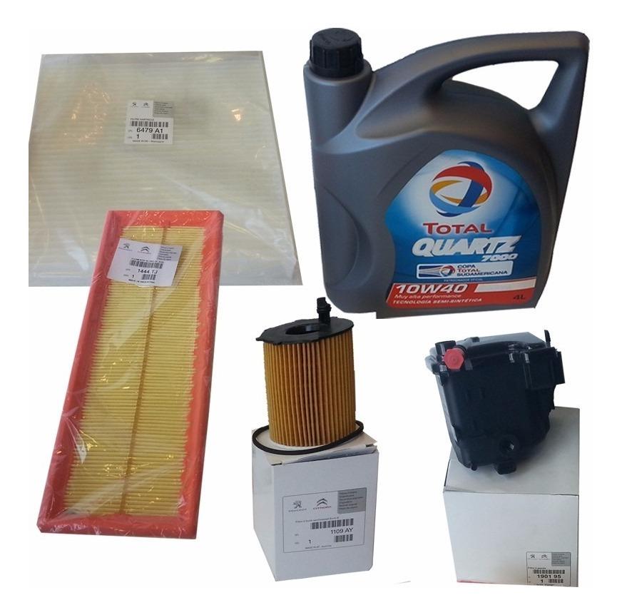 Combustible /& Kit De Servicio De Filtro De Aceite Peugeot Expert 1.6 BlueHDi Diesel 16 /> Aire