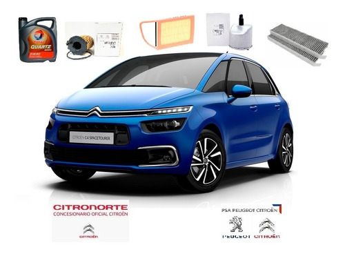 kit 4 filtros orig + aceite citroen c4 picasso y grand hdi