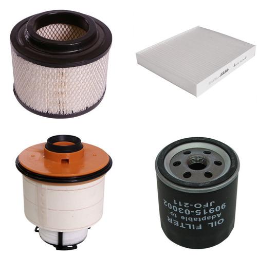 kit 4 filtros toyota hilux srv 3.0 2.5 tdi 2005+