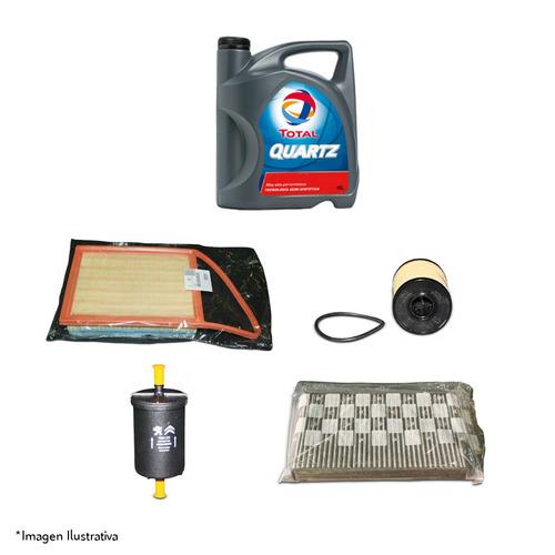 kit 4 filtros y aceite original peugeot 307 1.6 16v