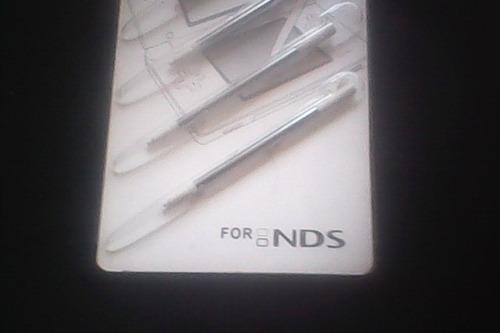 kit 4 lapiz tactil para nintendo ds /ndsi /n3ds
