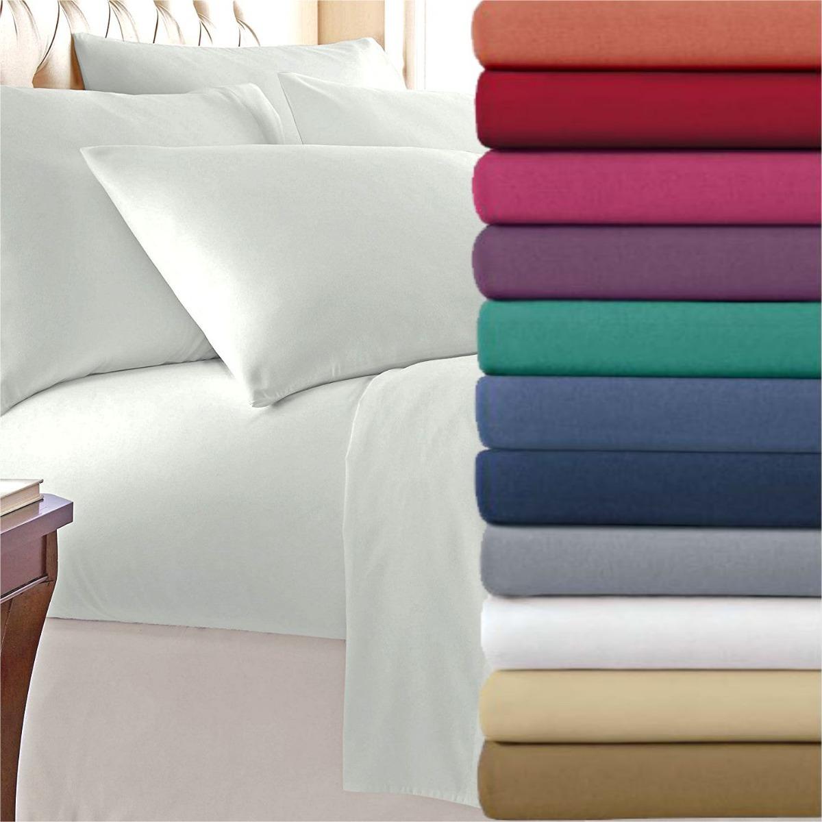 84aa78e8e9 kit 4 lençol casal malha 30cm 8 fronha 100% fio algodão jogo. Carregando  zoom.