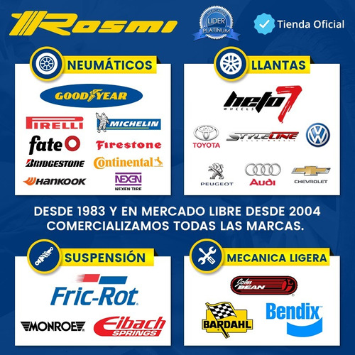 kit 4 llantas 16 deportivas style line 2750 4x108 fiesta 206