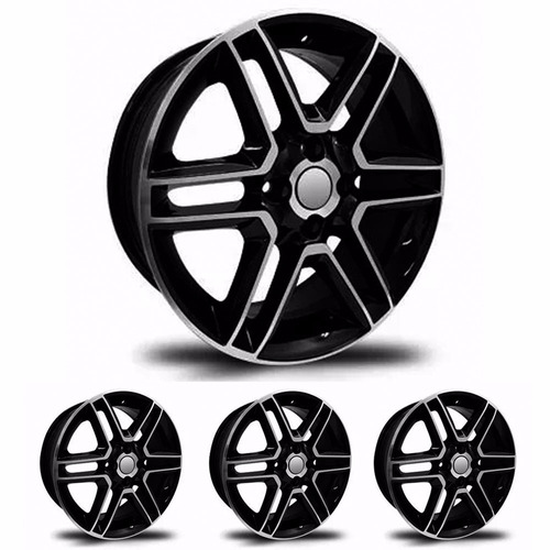 kit 4 llantas replicas 15 vw gol full 2016 4x100 - sportiva
