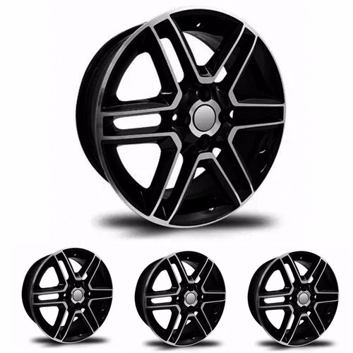 kit 4 llantas replicas 16 vw gol full 2016 4x100 - sportiva