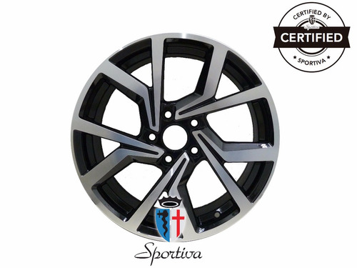 kit 4 llantas replicas 17 vw golf 1243 5x112 - sportiva