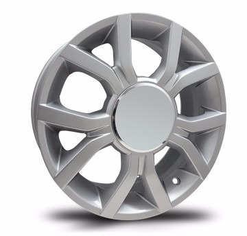 kit 4 llantas vw up rodado 15 - 4x100 - tigers