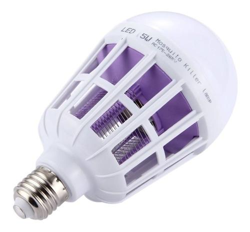 kit 4 lâmpada led mata mosquito insetos pernilongo killer