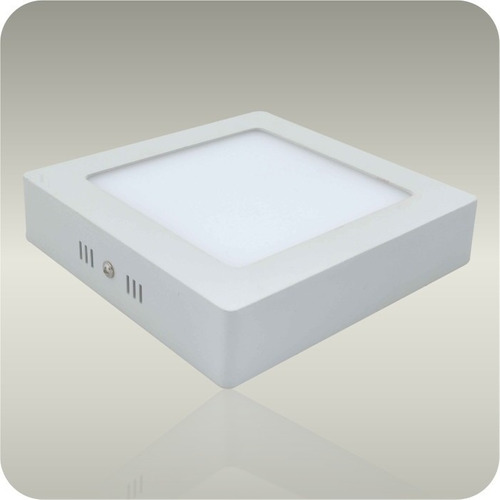 kit 4 luminária de 12 wts plafon led sobrepor de teto