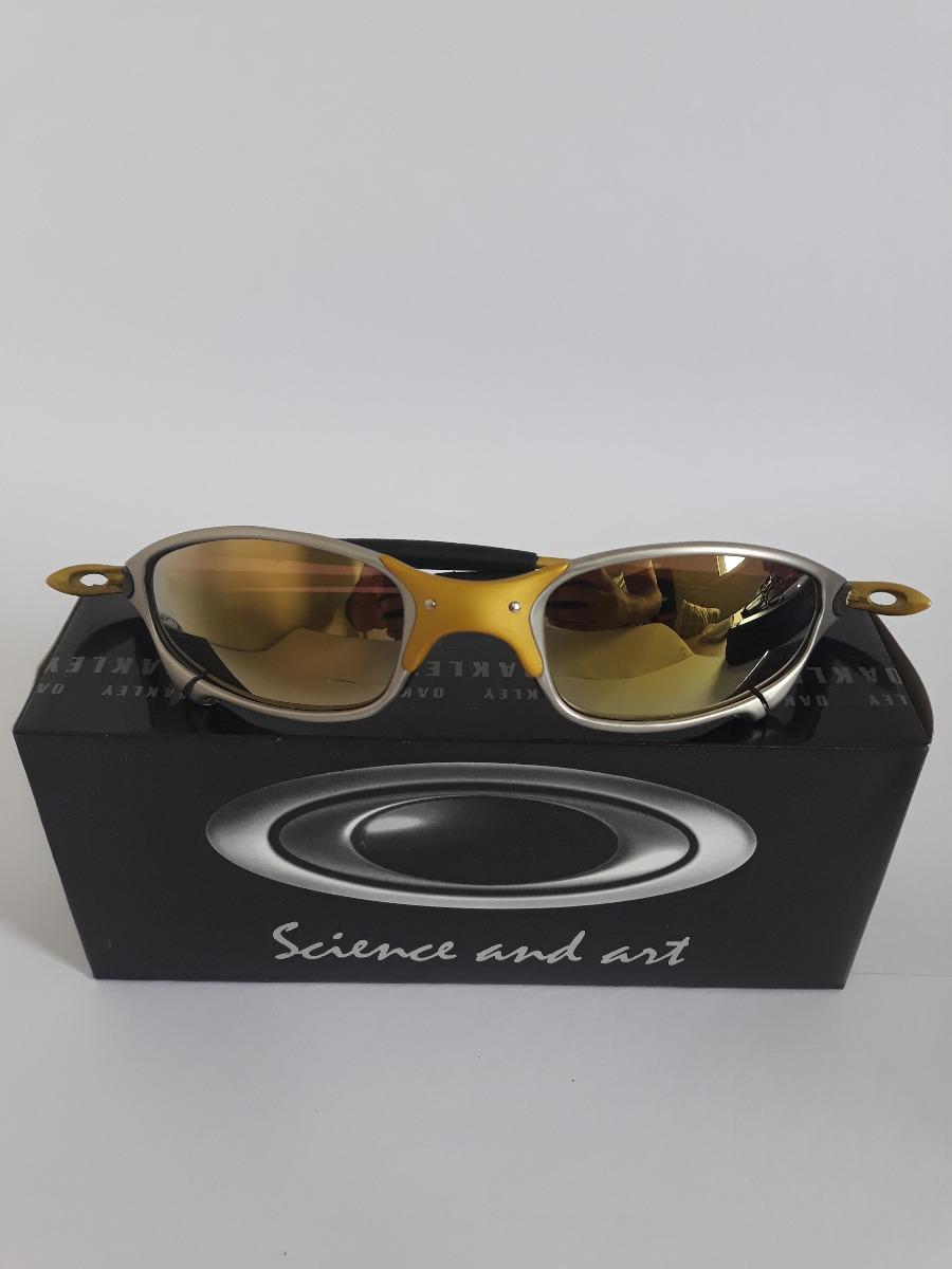 76a34032c0ab7 kit 4 lupa óculos oakley juliet double xx 24k romeo2 romeo1. Carregando zoom .