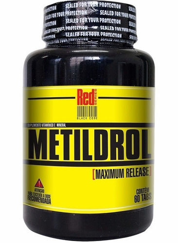 kit 4 metildrol (60 tabs) aumento da testosterona e libido