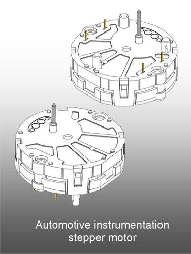 kit 4 motores stepper motor cluster  x27 168