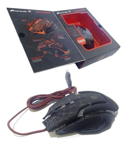 kit 4 mouses de led usb pc computador para jogos com botões