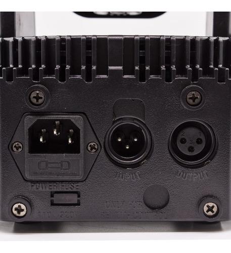 kit 4 moving head mini beam 80w rgbw cree led jogo de luzes