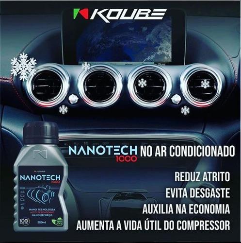 kit 4 nanotech 1000 condicionador de metais koube