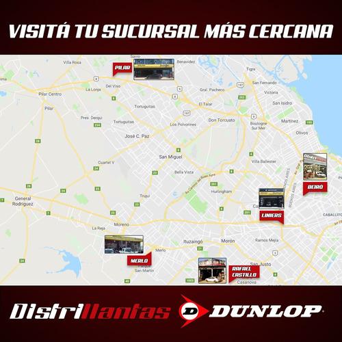 kit 4 neumaticos dunlop 235 55 rodado 17  tiguan ford kuga