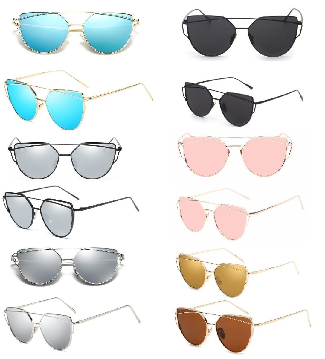 kit 4 óculos de sol feminino atacado starlight lindos top. Carregando zoom. c4d8f5c2d5