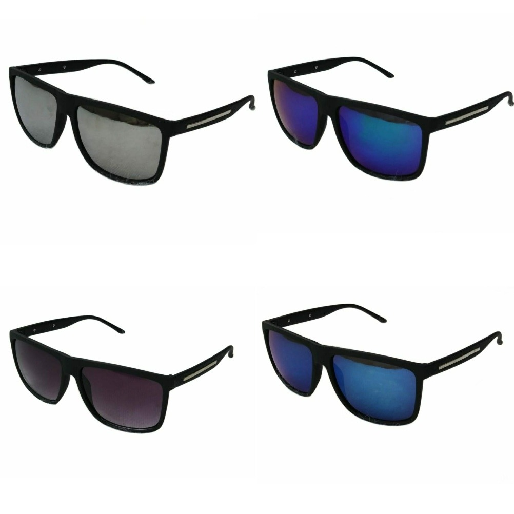 f4fa7c6e7 Kit 4 Óculos Masculino Quadrado Espelhado - R$ 99,00 em Mercado Livre