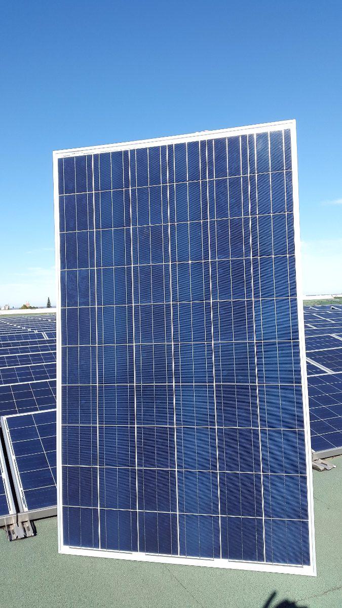 Kit 4 Paneles Solares Fotovoltaicos Domesticos Y